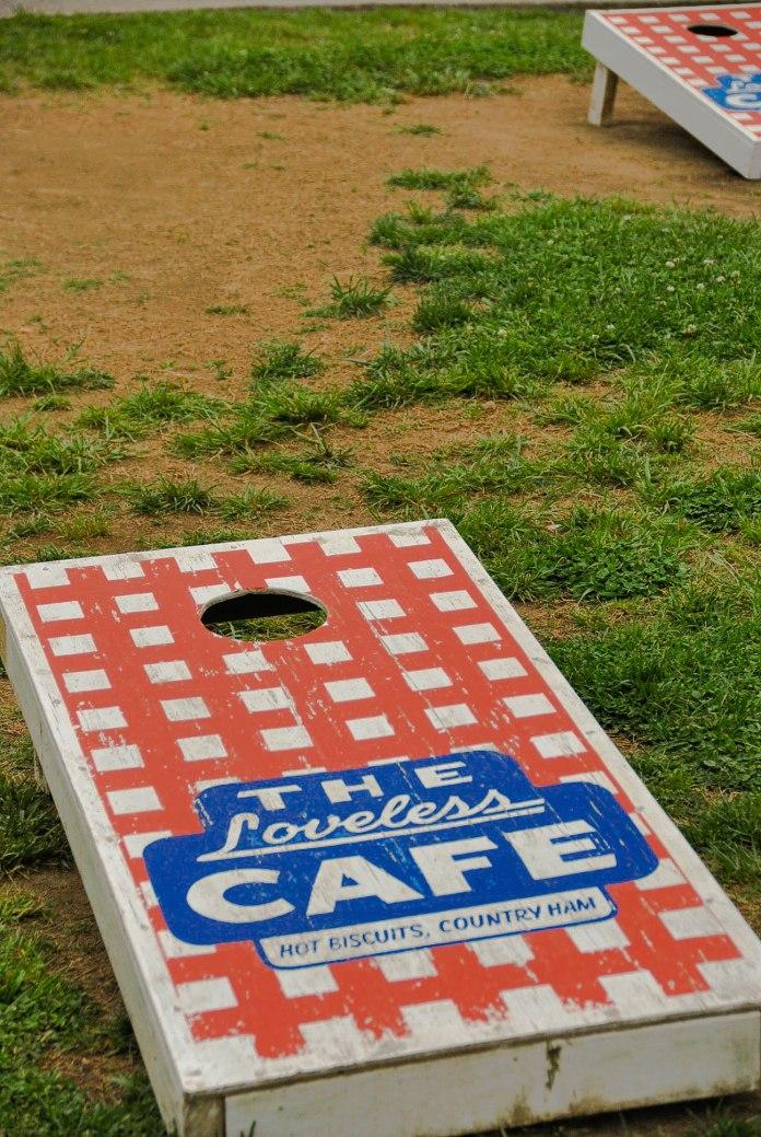 Loveless Cafe Yard Games