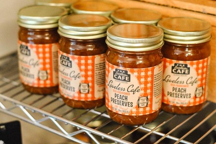 Loveless Cafe Peach Preserves