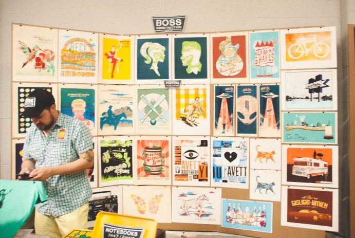 Letterpress-hatch-show-print-porter-flea-nashville-events-free-art-weekend-in-tennessee