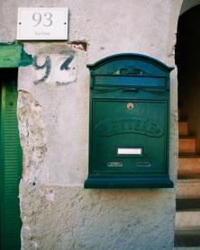 Cute mailbox in Ariccia