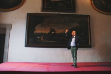 Prof. Francesco Petruccia - one of our professors and curator of the museum