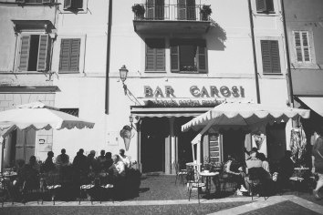 A bar (cafe) in Castel Gandolfo